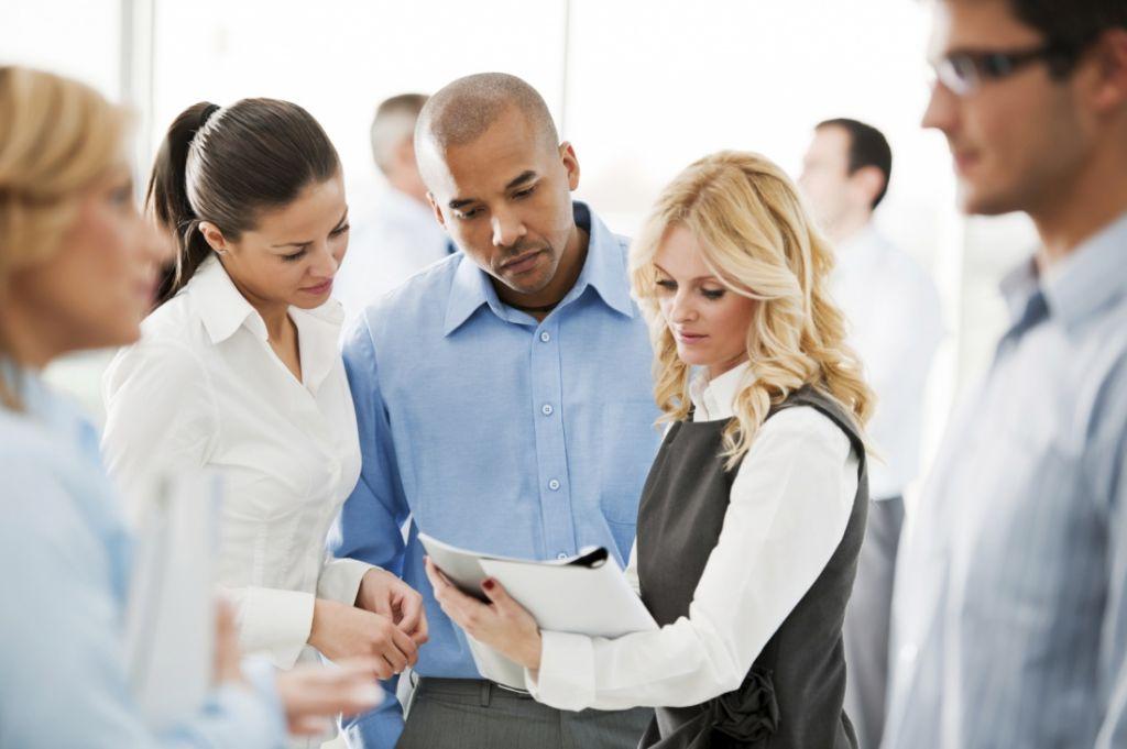 business office meeting, office teamwork, group teamwork office