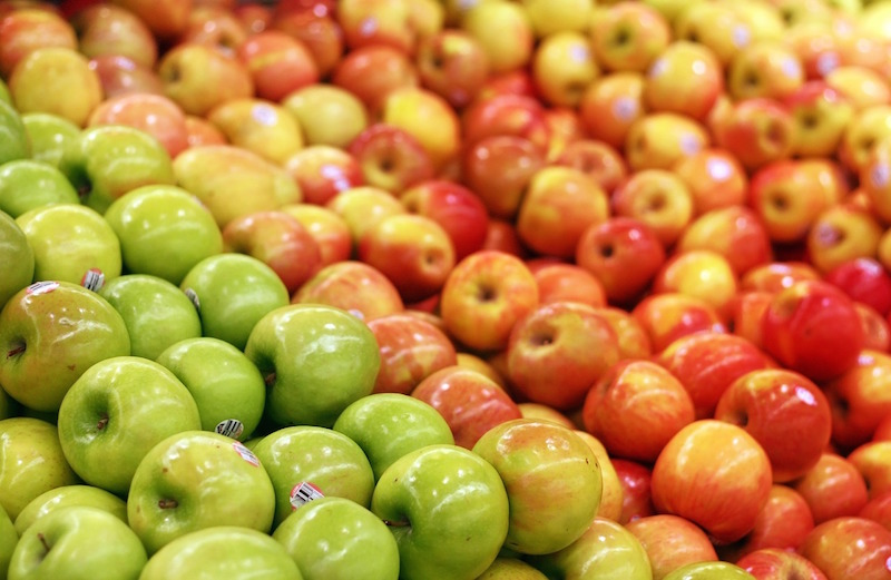 green and red apples. green and red apples e