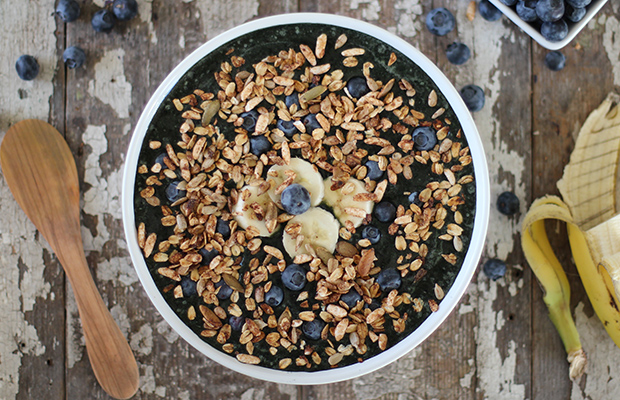 Blueberry Banana Crunch