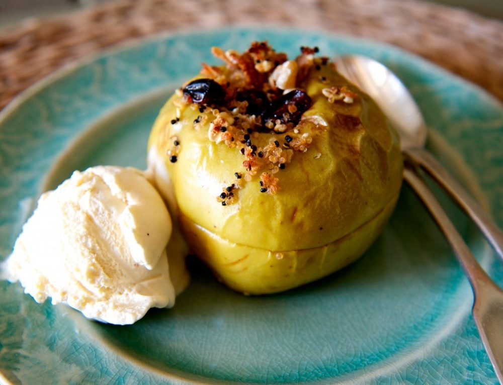 Recipe: Baked Apples with Quinoa