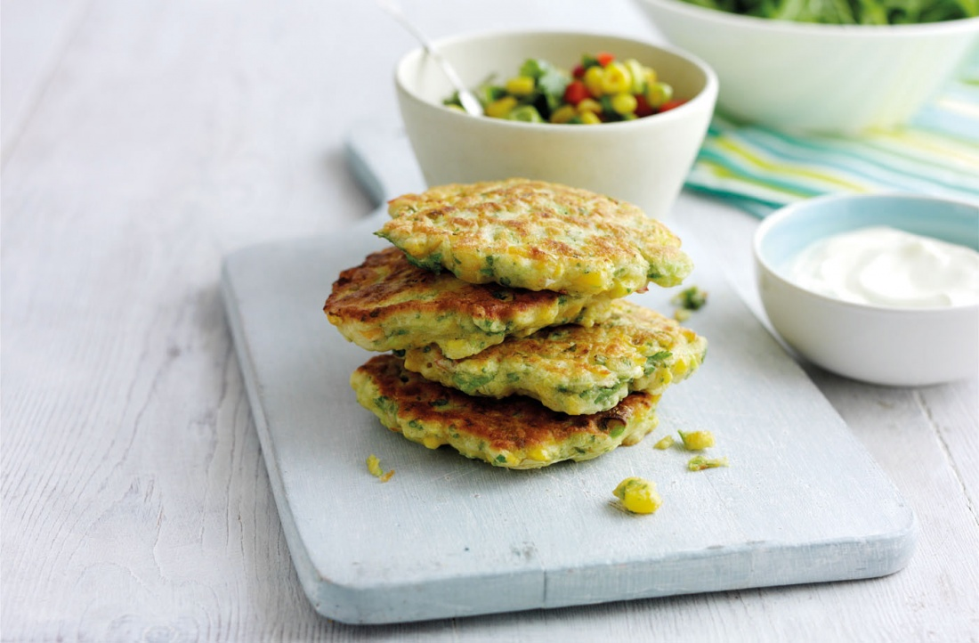 tesco corn fritters