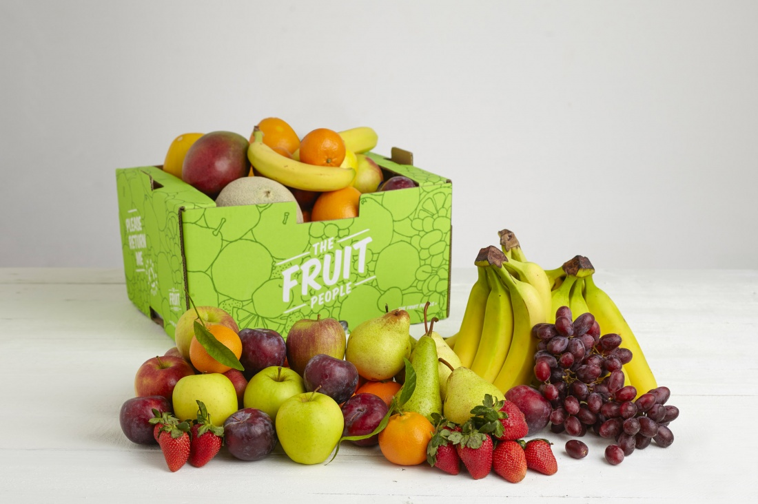 The Fruit People delivery box
