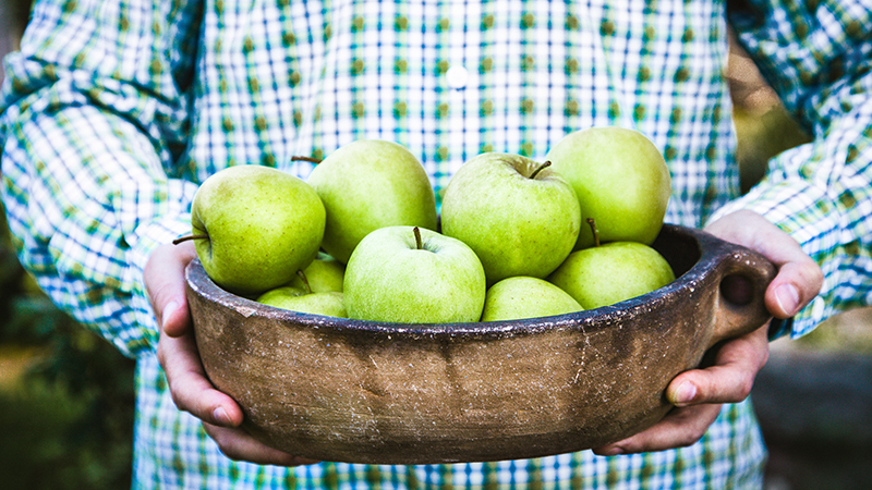 Activating apples National Workplace Wellbeing Day 2018 The Fruit People