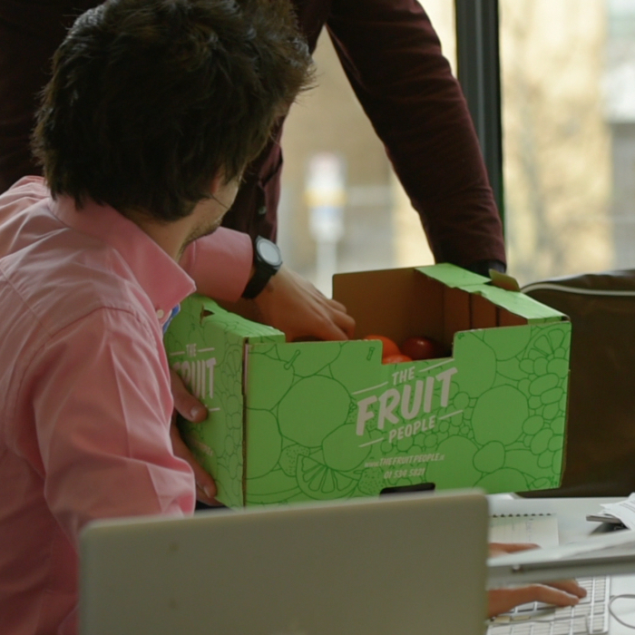 Office Productivity With Fruit