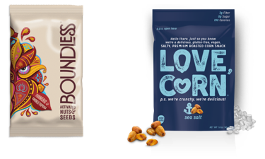 Nuts and corn products